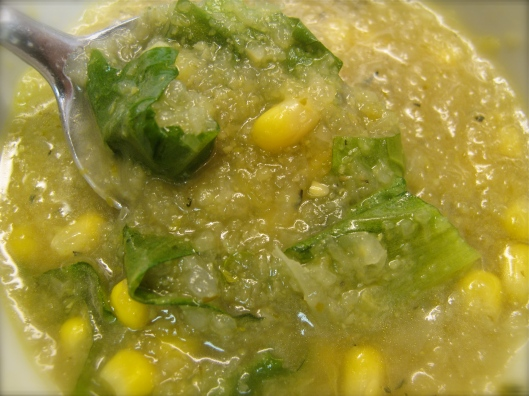 corn polenta soup