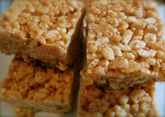 rice krispy bars