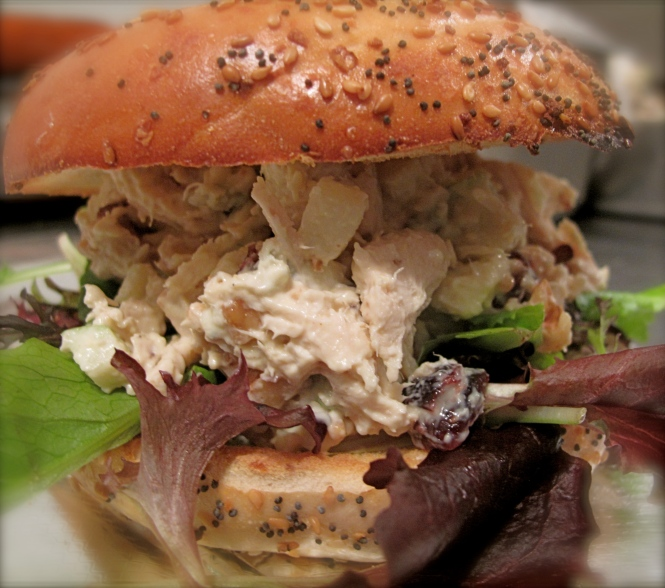 The Is What It Is Wich: Chicken Salad w/Blue Cheese, Dried Cranberries ...