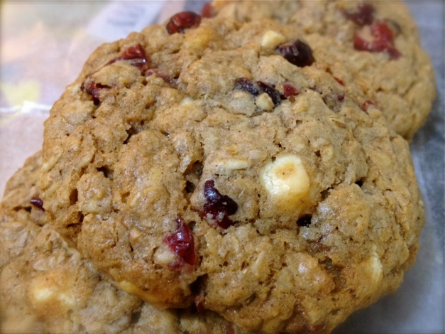 oat cranberry cookie