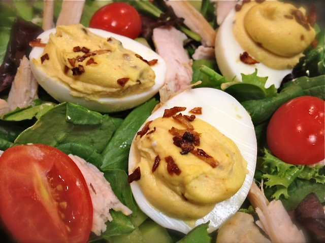 devilled egg salad