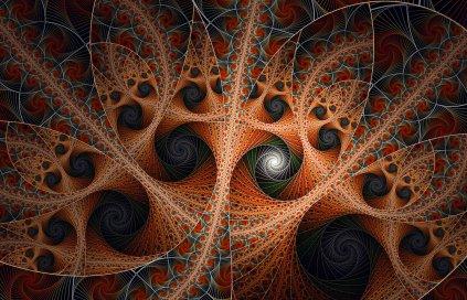 black_swirls_and_one_misfit_by_fractaldesire-d5vlvu1