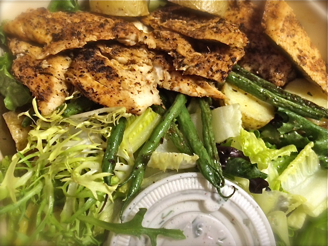 cajun chicken salad