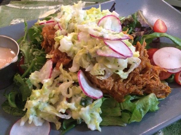 morroccan chicken salad