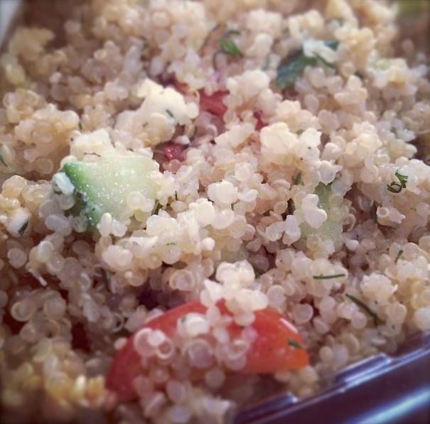 quinoa feta