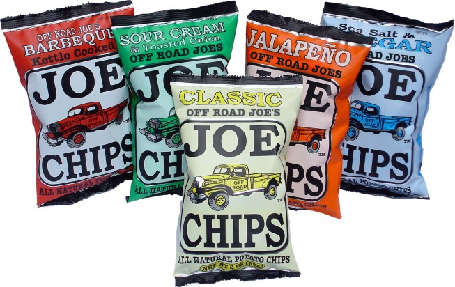 JOE chipbags